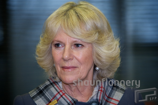 The Duchess of Cornwall Opens