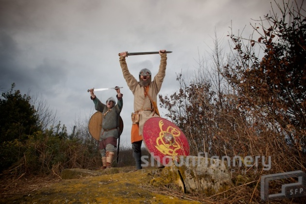 Dark Age Vikings return to Sherwood Forest.