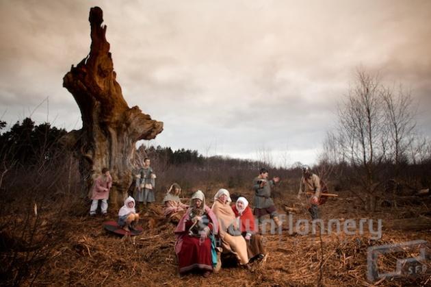 Dark Age Vikings return to Sherwood Forest.