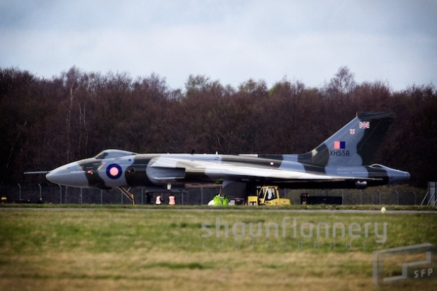 Ground testing of Vulcan XH558