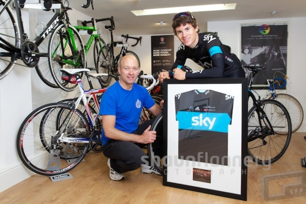 Ben Swift - Team Sky - Don Valley Cycles