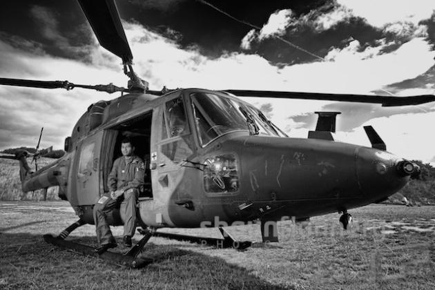 Army Westland Lynx Helicopter
