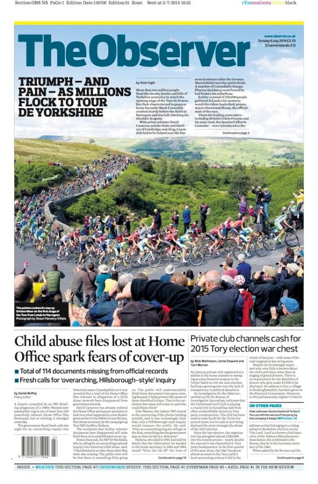 Tour de France - Cote de Grinton Moor