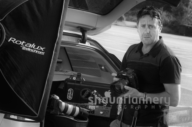 Shaun Flannery Director of Shaun Flannery Photography Ltd